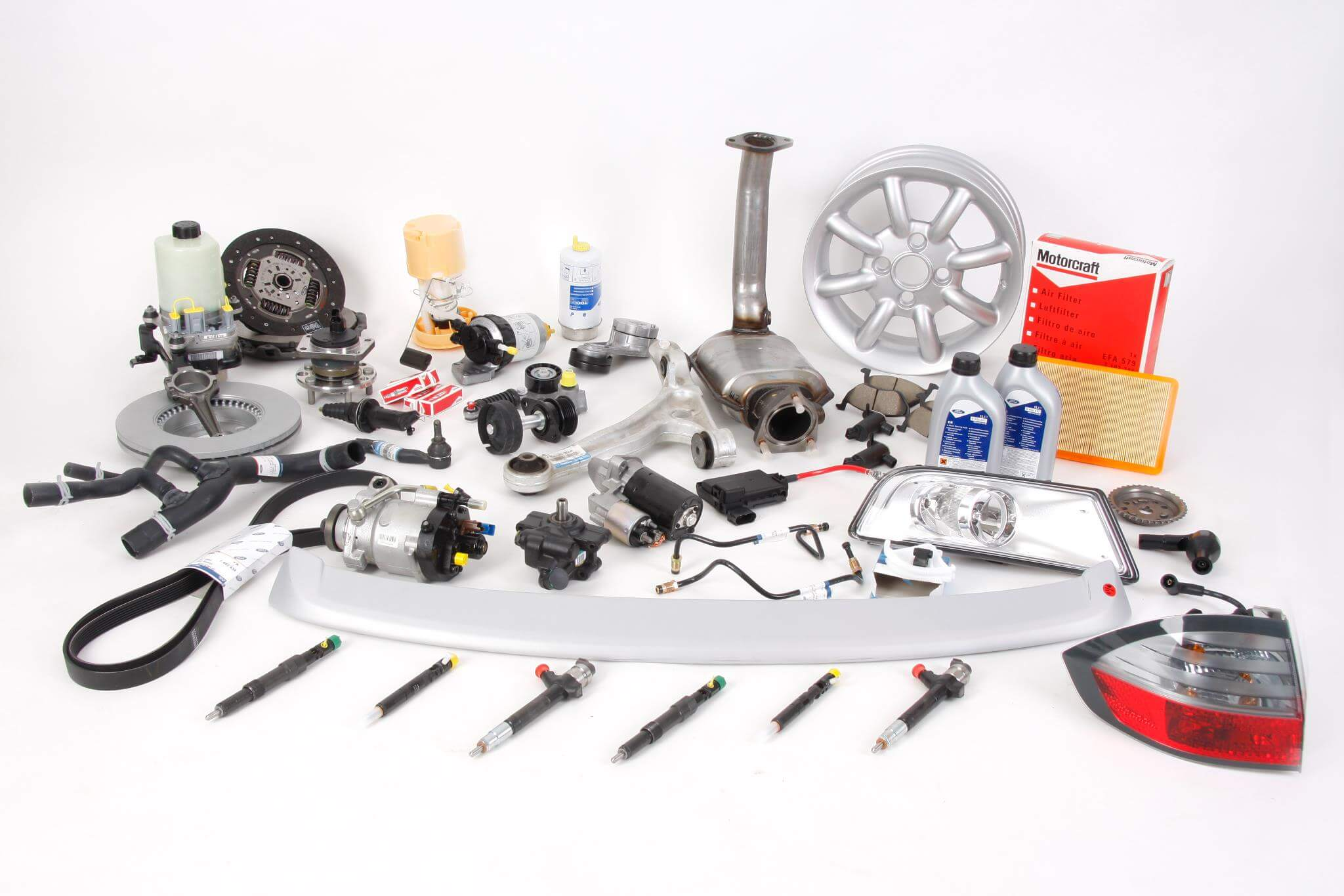 Diverse Autoteile der Firma genuine parts - Referenz World-of-edv Warenwirtschaft