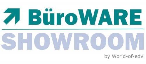 Logo BüroWARE Showroom der World-of-edv