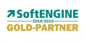 Logo Firma SoftENGINE Goldpartner