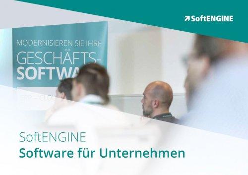 Softengine Software für Unternehmen Broschüre zum Download