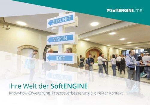 Softengine.me - Ihre Welt der SoftENGINE, Know-How-Erweiterung, Prozessverbesserung und direkter Kontakt