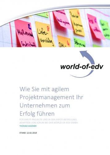 Whitepaper agiles Projektmanagement - Wie Sie mit agilem Projektmanagement Ihr Unternehmen zum Erfolg führen