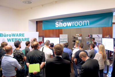 Messestand Showroom World-of-edv