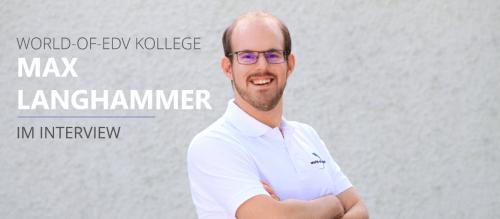 Kollege Max Langhammer im Interview