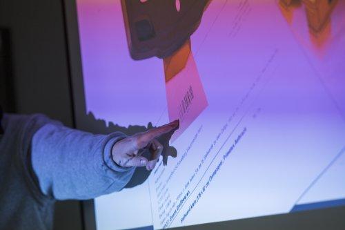 Den Schritt in die Digitalisierung zeigt Thomas Wagner anhand einer Präsentation