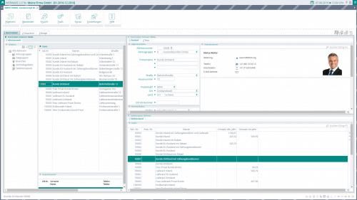 Screenshot der WEBWARE - Objektsystem Reiter 1 Adress Stammdaten