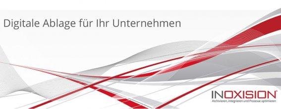 Digitale Ablage mittels Inoxision Dokumentenarchivierung - Titelbild für Blog