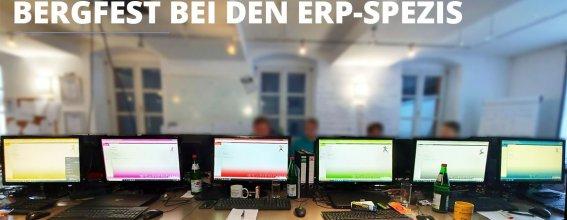 Titelbild ERP-Ausbildung Bergfest - Zwischenstand und Status Quo