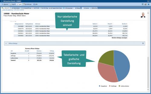 Beispiel MIS CRM Lösung Artikeldaten Screenshot