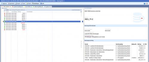 Finanzbuchhaltung Software - intelligenter Buchungsassistent der BüroWARE / WEBWARE von SoftENGINE