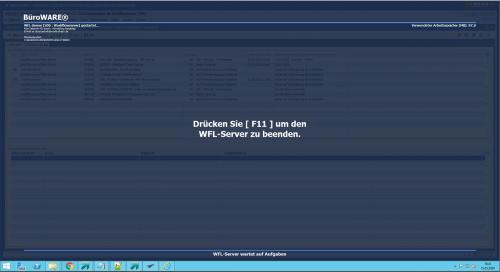 Workflow Server innerhalb der Warenwirtschaft Software für Automatisierungen