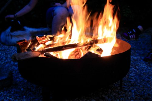 Teamevent - Lagerfeuer am Abend