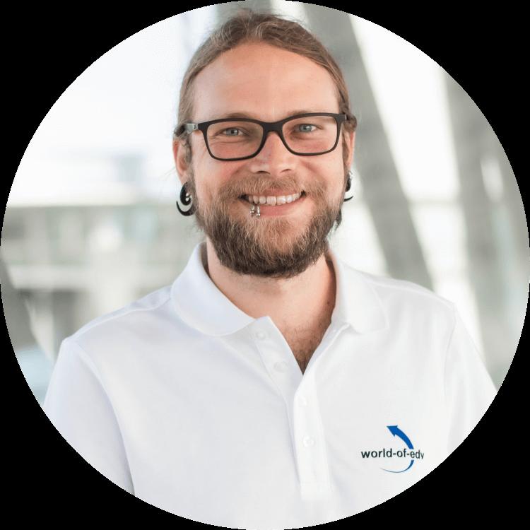 Christoph Niedermeier - Kollege der World-of-edv - Mitarbeiter