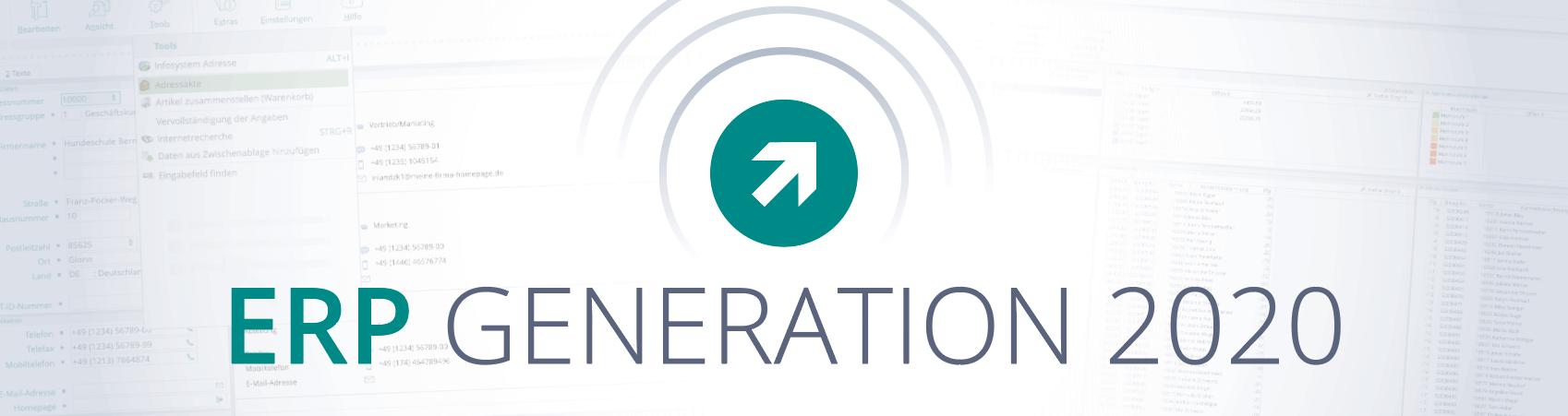 ERP Generation 2020 - modernes ERP-System und die Neuerungen von SoftENGINE ERP - Titelbild