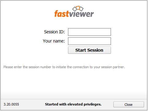 Fastviewer Screenshort