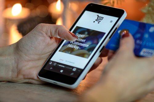 Online einkaufen im Onlineshop
