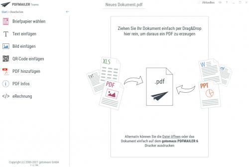 PDF einfach bearbeiten mit dem PDFMailer