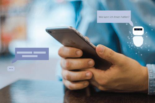 Chat mit einem Chatbot in Zeiten von KI