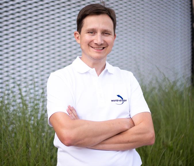 Geschäftsführer World-of-edv Thomas Wagner